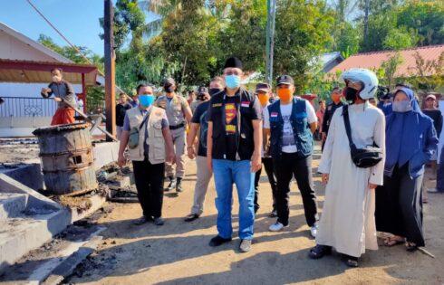 270 Jiwa Di KLU Terpaksa Mengungsi Akibat Si Jago Merah