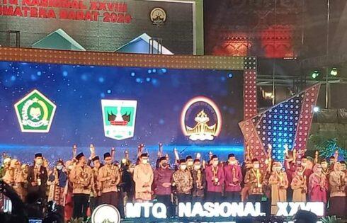 Dari Tahfizh sampai Qiraat, NTB Dapatkan 9 juara di MTQ Nasional